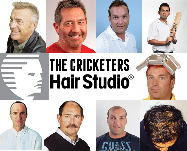 Celebrating 30 Years in Cricket - Hair Rejuvenation Clinic Reveal Their Best Ever (Previously) Bald XI